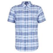 Skjortor med korta ärmar Gant  BLUE PACK MADRAS REG