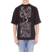 T-shirts med korta ärmar adidas  CF2591 T-shirt Men Black
