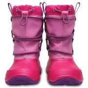 Crocs Swiftwater Waterproof Boot Kids Rosa US C12 (EU 29-30) Barn
