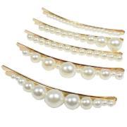 Bobby Pin, White Pearls H.A.I.R Hårband & Håraccessoarer